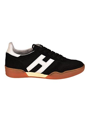 Hogan Sneaker H357 Bianche e Nere HXM3570AC40IPJ0002 Nero Uomo 7