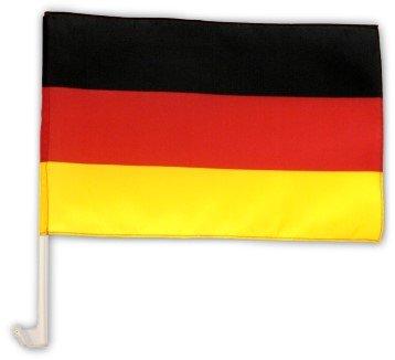 Autofahne Autoflagge Deutschland 30 x 45 cm