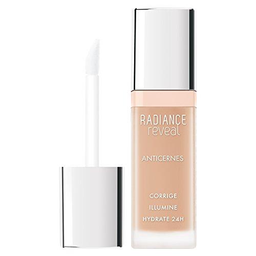 Bourjois Correttore Liquido Radiance Reveal, Copriocchiaie Illuminante e Revitalizzante con Acido Ialuronico, 02 Beige