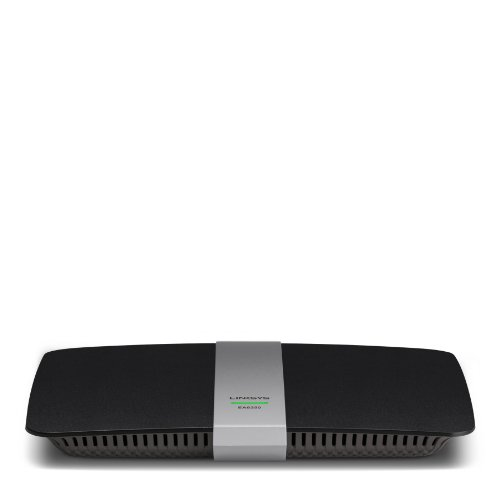 Linksys EA6350 AC1200+ Dual-Band Wireless Router (Black)