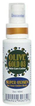 Olive Gold O3 Skin Care Lotion - Ozonated Olive Oil Super Oxygen (4oz) by Olive Gold O3