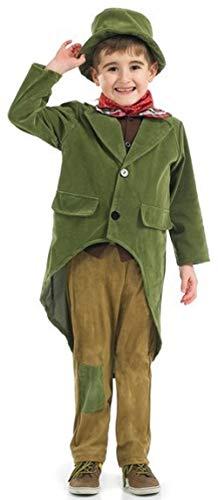 Fancy Me Jungen Reich Viktorianisch Charles Dickens Büchertag Kostüm Kleid Outfit 4-12 Jahre - Grün, 6-8 - Viktorianischen Charles Dickens Kostüm