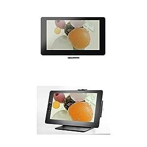 Wacom Grafik-Display Cintiq Pro 32, 32 Zoll Grafik-Touch-Display mit 4K Auflösung und integriertem Standfuß inkl Pro Pen 2 Stift mit verschiedenen Ersatzspitzen plus Ergo Stand, schwarz