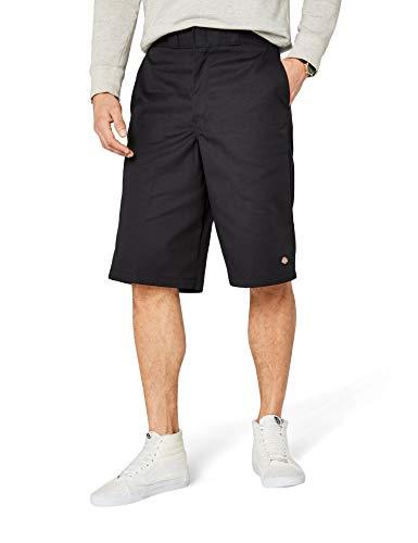 Dickies Herren Shorts 13in Mlt Pkt W/St, Schwarz, W32 - Multi Pocket Shorts