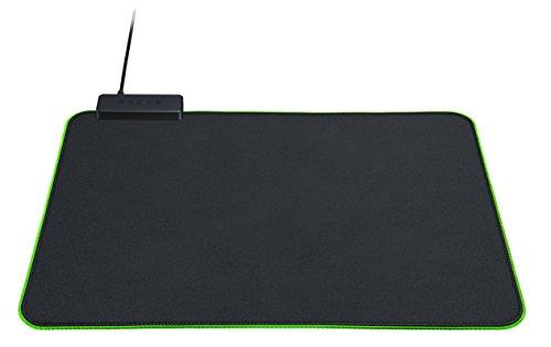 Razer Goliathus Chroma Gaming Mouse Pad: Customizable Chroma RGB Lighting - Soft, Cloth Material - Balanced Control & Speed - Non-Slip Rubber Base - Matte Black