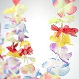 Bright Jumbo Flower Lei Garland - Set of...
