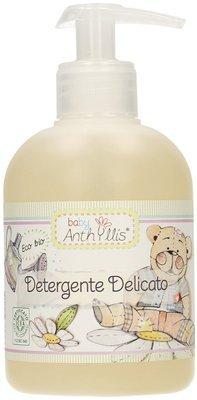 ANTHYLLIS - Detergente Delicato - Detergente ecobio extra delicato per il bebè, con tensioattivi da olio di oliva da agricoltura biologica - 300 ml
