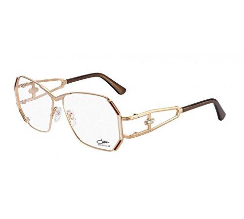 6f4c4e5041e2 Eyewear Cazal 225 003 56 13 135 Titanium Gold 100% Authentic New