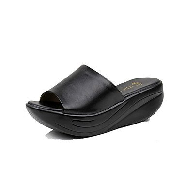 RTRY Donna Luce Pantofole Suole In Cuoio Real Estate Luce Casual Suole Liane Nero 1A-1 3/4In Nero Noi6.5-7 / Eu37 / Uk4 5-5 / Cn37 US6 / EU36 / UK4 / CN36