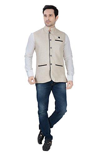 Nu-Abc-Garments-Khaki-Nehru-jacket-for-Men