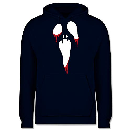 Shirtracer Halloween - Scream Halloween - XS - Navy Blau - JH001 - Herren Hoodie
