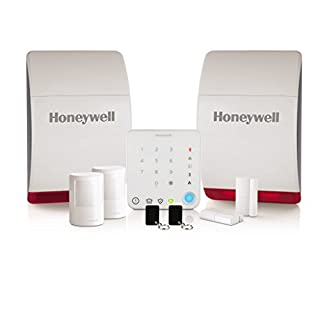 Honeywell HS342S Wireless Home and Garden Alarm with Intelligent Control - White