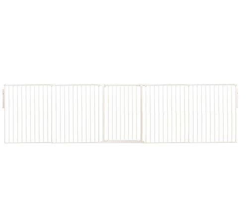 Safetots Raumteiler Weiß für Haustier bis 360cm