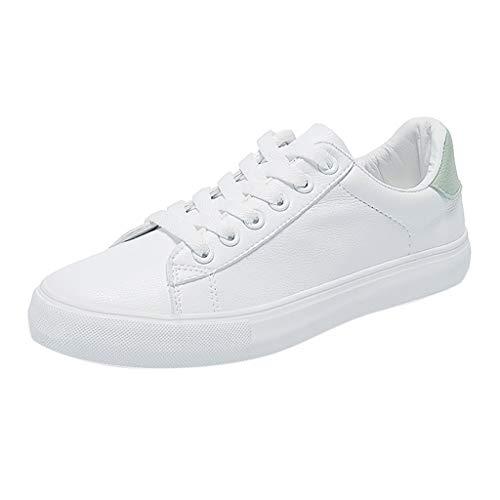 Make Fortune 2019 Damen Mode Breathable vulkanisierte Schuhe Leder Lace Up Student Casual Sneakers Student Schuhe weiße Schuhe Ananas Druckmuster Mode