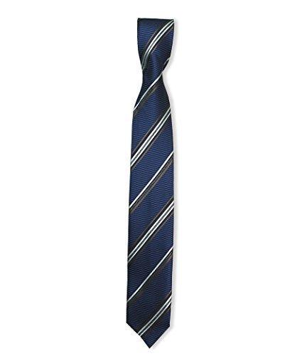 boys-slim-tie-skinny-necktie-for-boys-3-to-15-years-old-navy-brown