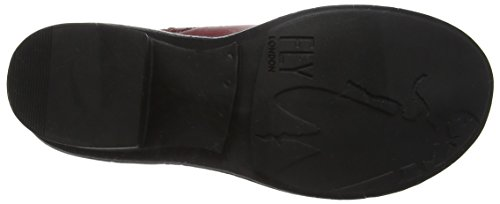 Fly London Coop043fly, Bottes Chelsea Femme Rouge (Red)