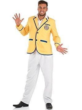 Hi De Hi Maplins Yellow Coat Costume - Men's