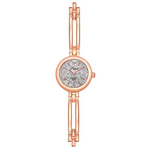 Caerling Damen Stilvoll Uhren Kleines Ziffernblatt Moderne Damenuhr Elegante Quarz Uhr Klein Legierung Uhrenband Armbanduhr Freizeit Armband