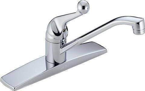 Delta Faucet 100LF-WF Classic, Single Handle Kitchen Faucet, Chrome by DELTA FAUCET