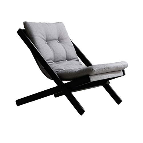 DUOER-Klappstühle Mini kleines Sofa, japanische Faule Sofa Freizeit Balkon Sessel Faltbare Lounge Chair (Color : C)