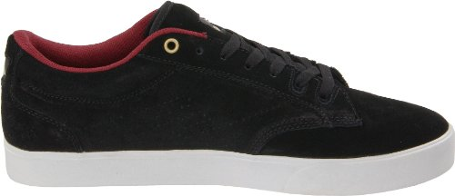 Emerica THE FLICK 6102000073, Scarpe da skateboard uomo Nero (Schwarz (black/gold/white))
