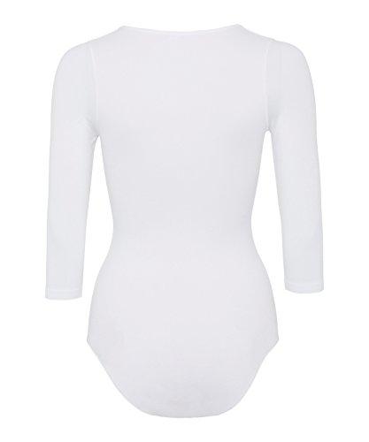 FALKE Damen Body Weiß (white 2209)
