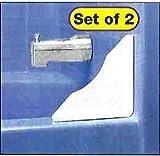 Tub/Shower Splash Guards - Set Of 2