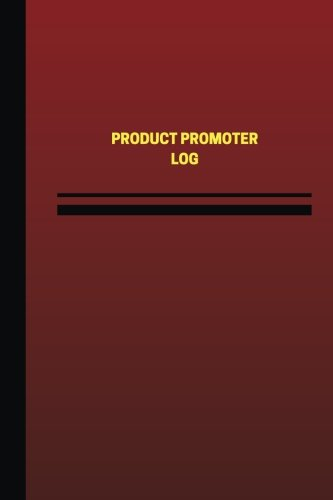 product-promoter-log-logbook-journal-124-pages-6-x-9-inches-product-promoter-logbook-red-cover-mediu