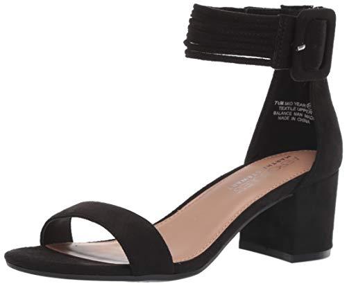 Aerosoles Sandalen Schwarz (Aerosoles Damen Martha Stewart Mid Year Heels Sandale, Schwarz (Black Fabric), 37 EU)