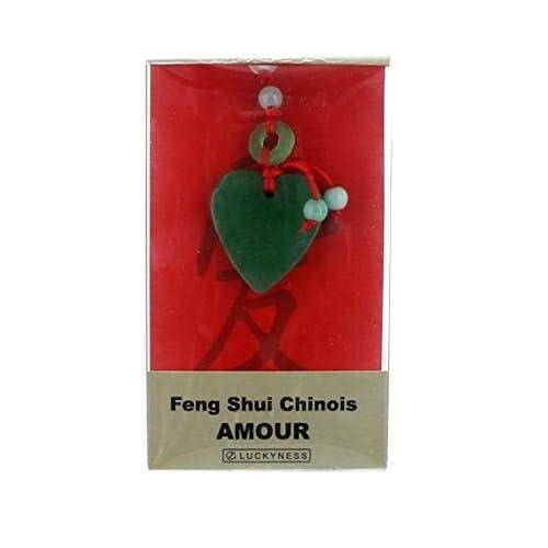 Porte-bonheur feng-shui jade amour