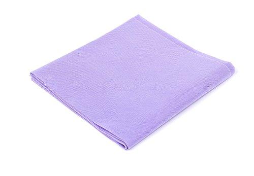 Tovaglie tnt - formato cm. 100x100 - confezione da 25 tovaglie in tessuto non tessuto - colore lilla - ideali per ristoranti, pizzerie, alberghi, trattorie, osterie, cene aziendali, buffet e congressi