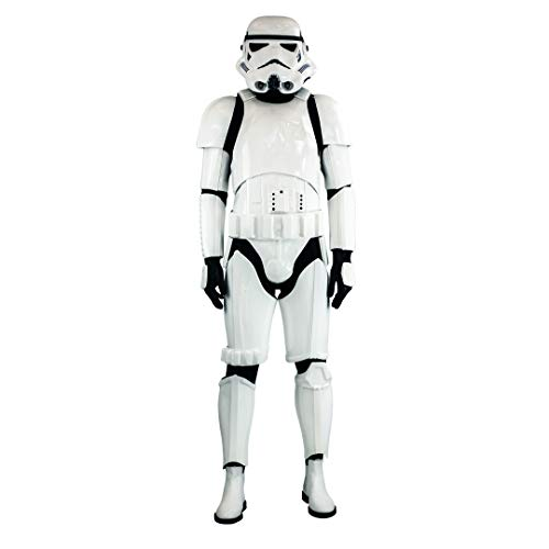 Shepperton Design Studios Original Stormtrooper Battle Spec MK3 Armour & Helmet Combo Deal (Storm Trooper Kostüm Für Erwachsene)