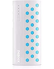 Debock Star13k 13000mAH Lithium Ion Power Bank with Led Torch and 3 USB Port (White)