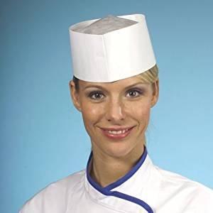Cappello da cuoco Excellent AUS plissiertem speciali di carta crespa ... 5800559ebc3d
