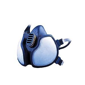 3M Maske gegen chemische Stoffe 4279C1 - 3M Atemschutzmaske mit Schutzstufe ABEK1 P3 für den Umgang mit giftigen Chemikalien, Gasen & Dämpfen - 1 x 3M Maske mit integrierten Filtern