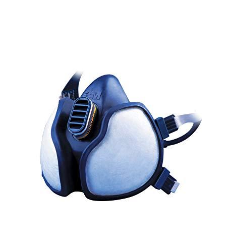 3M Halbmaske 4279 C 3M Atemschutzmaske (mit Schutzstufe ABEK1 P3 für den Umgang mit giftigen Chemikalien, Gasen und Dämpfen – 1 x 3M Maske mit integrierten Filtern)