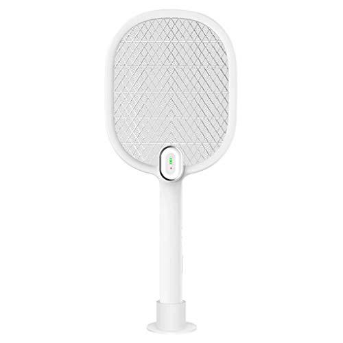GWL-Killing Mosquitoes Mosquito Recargable Zap IT! Bug Zapper, Fly Swatter/Killer y Bug Zapper Raqueta - (880 mAh), Luces súper Brillantes desaparecen en la Oscuridad