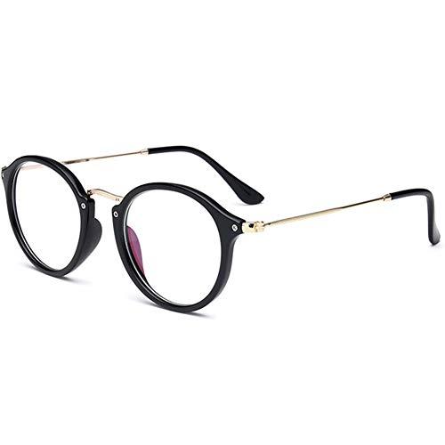 YUNCAT Round Vintage Optische Brillen nicht verschreibungspflichtigen Brillen Rahmen mit klaren Gläsern für Frauen