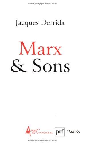 Marx & Sons par Jacques Derrida