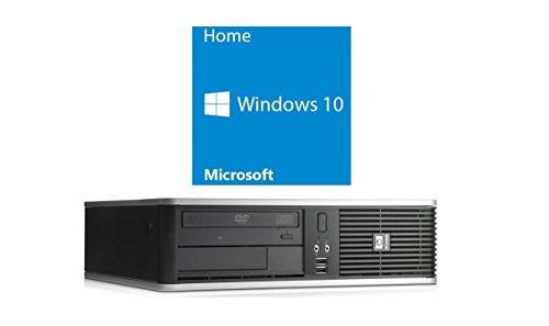 Refurbished Office PC   HP DC7900 SFF   Core 2 Duo E8500 @ 3,16 GHz   4GB RAM   160GB HDD   DVD-Brenner   Windows 10 Home (Zertifiziert und Generalüberholt)
