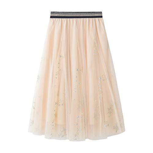 Proumy Vestidos&Faldas Damen Rock, Comprar más Con descuento en Proumy, Beige, Comprar más Con descuento en Proumy One Size (Descuento Vestidos De)