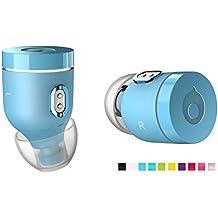 crazybaby Air Nano Oreillettes sans Fil Bluetooth 5.0 écouteurs sans Fil Compatiblent avec iPhone, Samsung, Sony et appareils avec Bluetooth