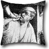 oil-painting-adriaen-van-ostade-a-baker-sounding-his-horn-pillow-shams-16-x-16-inches-40-by-40-cm-be