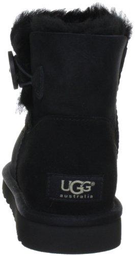 UGG Mini Bailey Button W'S Mini Bailey Button, Boots femme Noir black