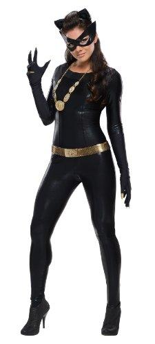 stüm für Damen, Größe:M (Dc Comics Catwoman Kostüme)
