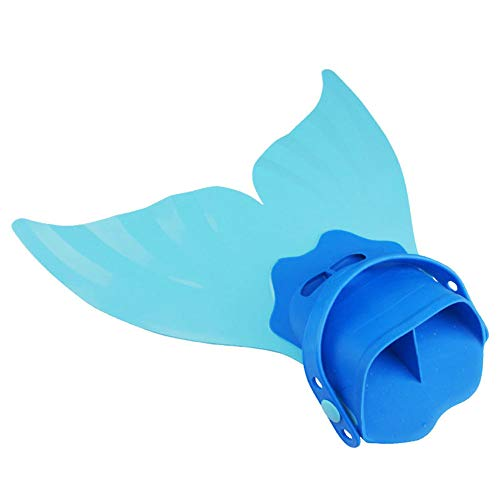 Soulitem Kinder Schwimmen Meerjungfrau Schwanzflosse Kinder Mädchen Tauchen Fuß Flipper Swim Flossen Bademode