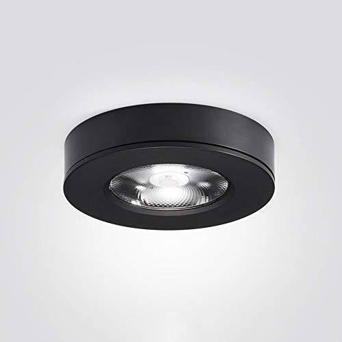 SHAOYH Ultradünne LED-Strahler Decke Weinschränke Schrank Küchenschränke Anbaustrahler Schwarz-Weiß-Modelle Optionale COB-Strahler Einkaufszimmer Wohnzimmer Schlafzimmer Esszimmerleuchten
