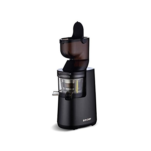 Extracteur de Jus BioChef Atlas Whole Slow Juicer - Extracteur à rotation lente, Large Ouverture...
