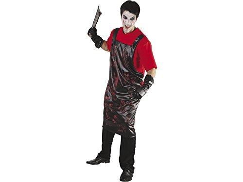 Blutige T Shirt Kostüm - DISONIL Kostüm blutige Metzger T-Shirt Mann