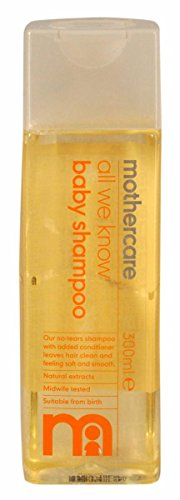 Mothercare-All-We-Know-Baby-Shampoo-Pack-of-1-300mL